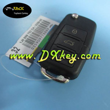 Good price car keys with chips for 3 button VW remote key VW key 1jo 959 753 DA 433Mhz, ID48 chip