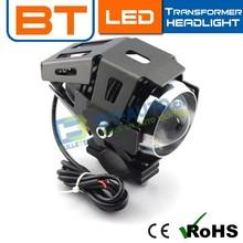 3000 Lumens 12V U2 Extra Headlight Motorcycle/ Projector Headlight For Motorcycles