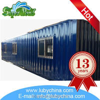 Professional prefabricated bungalow on stock