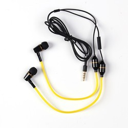 high quality fashion headphone earphone Dual Driver earphone for mobile and music player