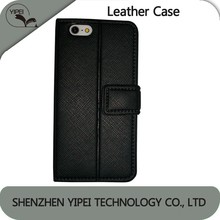 Hot Sell PU Leather Phone Case For iphone 4 4s 5 5S Wallet With ID Credit Card Slots Stand Holder Anti-dust Phone Case