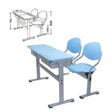 Plastic Table and Chair school furniture student desk XG-203