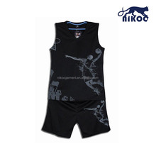 best sample basketball uniform design color black