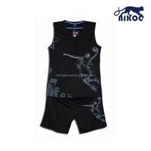 best sample basketball uniform design color black