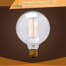 Modern house design G95 decorative e27 carbon filament light bulbs