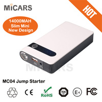 2015 newest product mini car jump starter car power bank