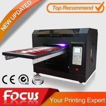 2015 new conditional multifuctional A3 uv flatbed printer with competitive price