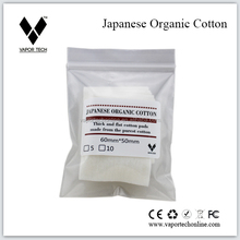 Vapor Tech The Purest Japanese Organic Cotton for Use in Electronic Cigarette RDAs