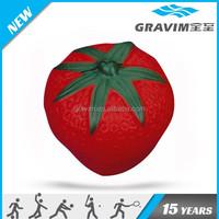 Red strawberry sharp anti stress ball