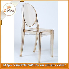 Wholesale colorful Full polycarbonate ghost chair