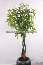 artificial green hedge,artificial money tree