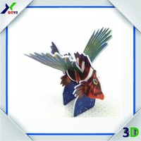 wholesale children gift custom 3D diy puzzle game,3d puzzle diy toy,3D jigsaw puzzle
