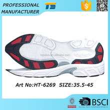 Female Running Eva Tpr Durable Shoe Latest Men Shoe Sole Design Shoes With Red On The Bottom