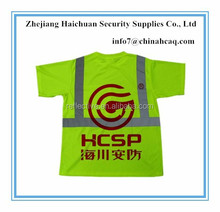 High Visibility Reflective Safety Polo T-shirts For Men