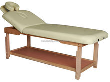 2015 Acrofine High Quality Wooden Stationary Massage Therapy table