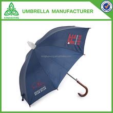 umbrella with collapsible plastic sheath