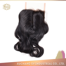Wholesale factory price top quality peruvian quick opening closure, lace closure brazilian deep wave