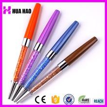 Wholesale branded metal crystal bling pen stylus crystal pen promotional metal diamond pen