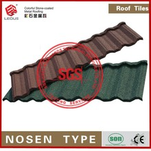 recyclability chip coated roofing,coated roof tile