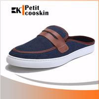 Canvas sport man shoe slipper summer shoes men open shoes