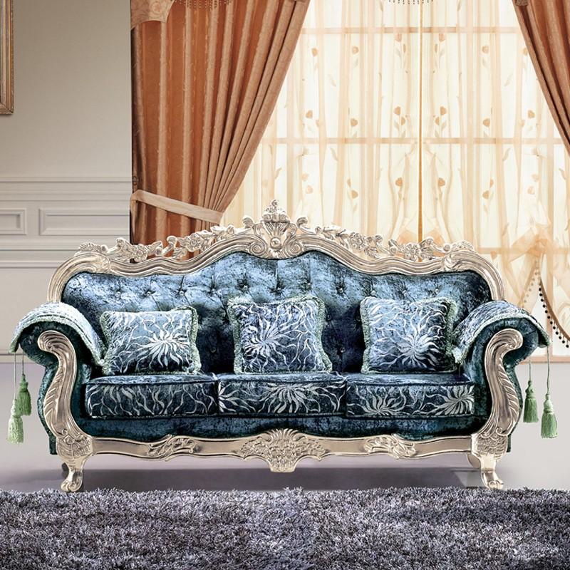 Foshan industrial fabric sectional big living room luxury - Sofas antiguos de madera ...