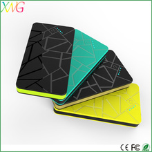 Business gift 8000mah polymer battery sixy video rechargable power bank travel
