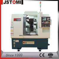 Small 5-Axis Twin Spindle CNC Lathe With Engraving Function