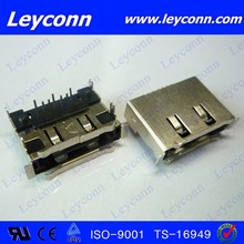 Factory directly 7 Pins SMT ESATA Connector with good quality and price
