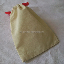 hot sell blank cotton drawstring bag with personalised design accepted
