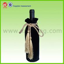 Cheap Velvet Gift Packing Fancy Wine Bag