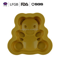China dongguan famous manufacturer silicone molds for cake decorating