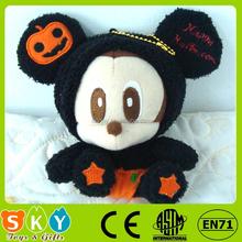 mini stuffed plush toy vietnamese pumpkin for hallowmas day gift