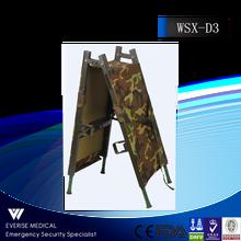 WSX-D3 Alumimum Alloy 2 Folding stretcher Used Ambulance Stretcher