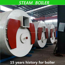 China Industrial Steam Boiler Heating with oil equiped with famous and durable burner hot sale