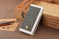 White New arrival wallet case, fashion cover for iphone, OEM available