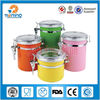 2015 wholesale kitchen storage/sale stainless steel food canister sets,candy jar,mason jars