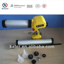 Two Li-ion battery aluminum tube caulking gun