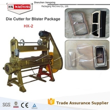 Traditional mode of blister cutting machine