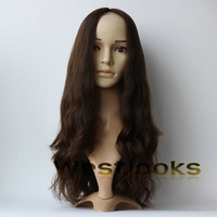 Top Quality Monofilament Virgin Mongolian Hair Lace Front Jewish Wig