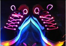 china wholesale many color fluorescent shoe lace for sport shoes