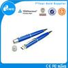 2015 Hottest Selling mini usb stick customized usb 64GB Blue metal swivel mini usb flash drive