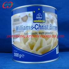 410g, 820g, 2500g, 3000g cheap price canned pear in light syrup