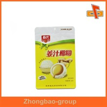 OEM resealable custom flat block bottom box pouch for coffee, snack, food packaging