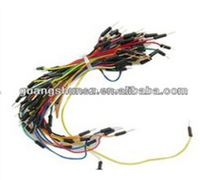 65pcs Flexible Breadboard Jumper Wires