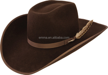 Best selling funny cowboy hat high quality design your own cowboy hat made in china HT4263