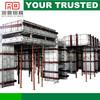 aluminum concrete formwork substituted for plastic concrete formwork