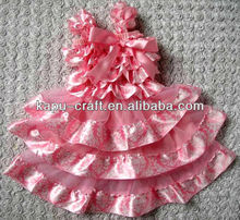 venta caliente de color rosa vestido de princesa venta al por mayor en stock