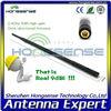 [HIgh gain ] flexible rubber car antenna 2.4ghz wifi/wlan antenna 9dbi spring