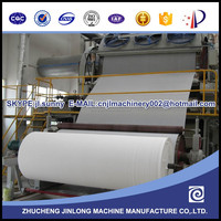 Most Advanced 1880 Tissue Paper Making- Machine selling hot at oversea