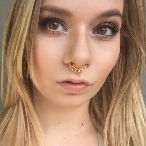2015 neueste beliebt gef lschte septum nasenring nicht durchbohrt septum ring faux septum ring. Black Bedroom Furniture Sets. Home Design Ideas